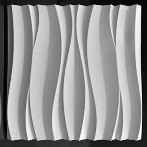 3d панель волна атлантика
