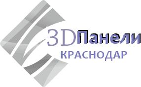 Логотип 3Д Панели Краснодар