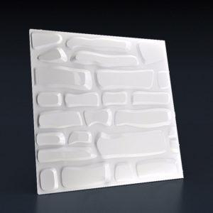 Гипсовая 3д панель кирпич на кухню