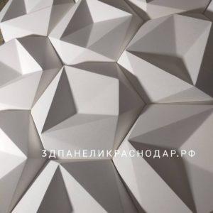 3д гипсовая панель мозаика