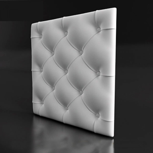 3д гипсовая панель подушка