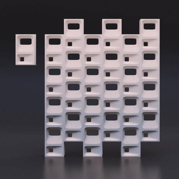 гипсовый 3д блок (3)