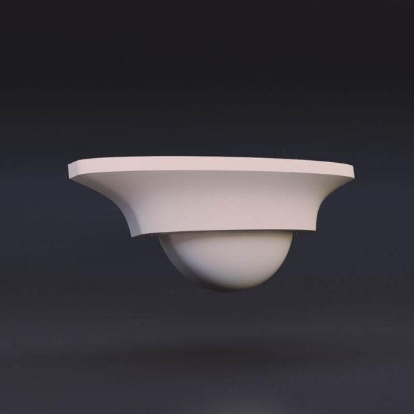 светильник из гипса модель 5
