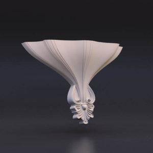 светильник из гипса модель 6