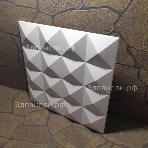3д гипсовые панели пирамиды